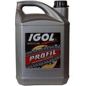 Huile de chaîne filante IGOL pour tronçonneuse et élagueuse - 5 litres de la marque GT Garden image 0 produit