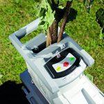 Ikra ILH 3000 A Broyeur de jardin, silencieux, robuste, sans entretien, 3000W, broyage de branches jusqu'à 44mm de la marque Ikra image 4 produit
