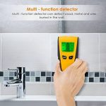 INTEY Détecteur de Matériaux Electrique Multi-fonction Avec Ecran LCD et Bip Sonore Stud Finder 3 en 1 Détecteur Métal/Tension/Bois en Jaune de la marque INTEY image 5 produit