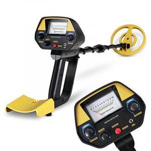 INTEY Détecteur de Métaux Metal Detector Imperméable Kit de Démarrage avec Mode Pinpointer & Discrimination (Gratuit: Pelle Pliante Multifonctionnelle) de la marque INTEY image 0 produit