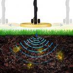 INTEY Détecteur de Métaux Metal Detector Imperméable Kit de Démarrage avec Mode Pinpointer & Discrimination (Gratuit: Pelle Pliante Multifonctionnelle) de la marque INTEY image 3 produit