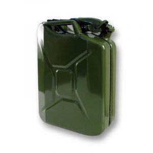 Jerrican métal hydrocarbures type US 20L + bec verseur : Autoselect de la marque Autoselect image 0 produit