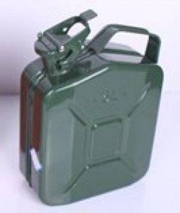 Jerrycan en tôle d'acier 5L avec bec verseur de la marque Trad4U image 0 produit