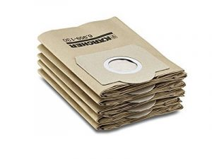 Kärcher 6.959-130 Sachet filtre papier pour aspirateurs eau et poussières (paquet de 5) de la marque Kärcher image 0 produit