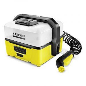 Kärcher OC 3Mobile Outdoor Cleaner, impression nettoyant avec batterie d'ion de lithium et réservoir d'eau pour mobile, 1.680-000.0 de la marque Karcher image 0 produit