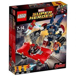 LEGO - 76077 - Marvel Super Heroes - Iron Man : L'attaque de detroit Steel de la marque Lego image 0 produit
