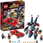 LEGO - 76077 - Marvel Super Heroes - Iron Man : L'attaque de detroit Steel de la marque Lego image 1 produit