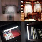 Lofter lumière armoire rechargeable avec détecteur de mouvement et de lumière 14 LED de la marque LOFTER image 1 produit