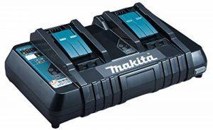 Makita DC18RD Chargeur rapide double pour 2 batteries Li-ion/Ni-Mh de la marque Makita image 0 produit