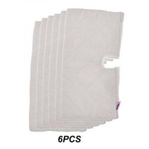 Micro-fibre de Rechange Fushing, 6pièces, Tampons de nettoyage, Nettoyeur à vapeur, Poche de Serpillière S3501S3601S3901 de la marque Fushing image 0 produit