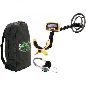 Pack détecteur de métaux Garrett Ace 150 + protège disque + casque + sacoche de la marque GARRETT image 0 produit