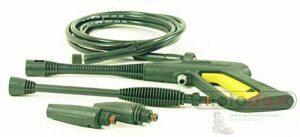 Parkside Jeu de pistolets atomiseurs Parkside PHD 100A, A1, B2, C2, D2Composé de pistolet, tuyau à haute pression, buse à haute pression, buse à jet plat de la marque Parkside image 0 produit