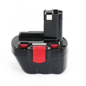 Reexbon 12V 3.0Ah NIMH Remplacement Batterie pour Bosch BAT043, BAT045, BAT046, BAT049, BAT120, BAT139, 2607335261, 2607335262, 2607335273, 2607335274, 2607335374, 2607335375, 2607335395, PSR 12, PSR 12VE, PSR 12VE-2 de la marque Reexbon image 0 produit