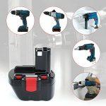 Reexbon 12V 3.0Ah NIMH Remplacement Batterie pour Bosch BAT043, BAT045, BAT046, BAT049, BAT120, BAT139, 2607335261, 2607335262, 2607335273, 2607335274, 2607335374, 2607335375, 2607335395, PSR 12, PSR 12VE, PSR 12VE-2 de la marque Reexbon image 6 produit