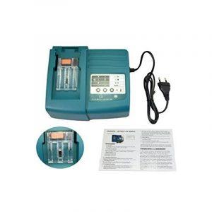 Remplacement générique Makita chargeur de chargeur rapide pour la batterie d'outils 1.5A Lithium Ion Pour DC18RA DC18SC DC1803 DC1804 DC14SA 7.2V-18V Power Tool Batterie BL1845 BL1840 BL1815 BL1440 BL1430 BL1415 BL1830 batterie 7.2V 10.8V 14.4V 18V de image 0 produit