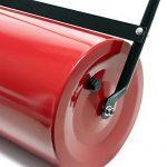 Rouleau de jardin et de gazon 32x57cm avec volume 45l, à remplir, avec râcleur de saletés de la marque WilTec image 1 produit