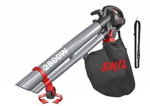Skil 0792AA Aspirateur Souffleur et Broyeur de Feuilles avec Roulettes pivotantes (2800W, Bretelle, Sac de récupération, Easy Storage) de la marque SKIL image 0 produit