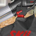 Skil 0792AA Aspirateur Souffleur et Broyeur de Feuilles avec Roulettes pivotantes (2800W, Bretelle, Sac de récupération, Easy Storage) de la marque SKIL image 5 produit