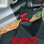 Skil 0796AA Aspirateur Souffleur et Broyeur de Feuilles avec Roulettes pivotantes et Variateur de Vitesse (3000W, Sac de récupération, Easy Storage) de la marque SKIL image 5 produit