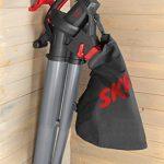 Skil 0796AA Aspirateur Souffleur et Broyeur de Feuilles avec Roulettes pivotantes et Variateur de Vitesse (3000W, Sac de récupération, Easy Storage) de la marque SKIL image 3 produit