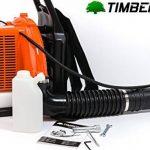 Souffleur à feuilles dorsal thermique 85 cm³ TIMBERPRO de la marque TIMBERPRO FR image 3 produit
