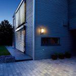 Steinel L 610 LED Applique murale á détecteur de mouvement 180°, luminaire extérieur en Inox finition en métal, éclairage pour entrées, pour façades de maison, 004026 [Classe énergétique A++] de la marque STEiNEL image 2 produit