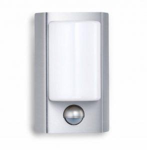 Steinel L 610 LED Applique murale á détecteur de mouvement 180°, luminaire extérieur en Inox finition en métal, éclairage pour entrées, pour façades de maison, 004026 [Classe énergétique A++] de la marque STEiNEL image 0 produit