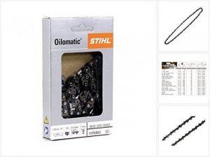 """Stihl 3610 000 0050 Chaîne de tronçonneuse 1,1 50 GL 3/8"""" 35 cm de la marque Stihl image 0 produit"""