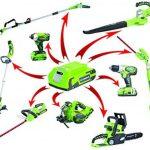 Taille-haie sans fil 24V de Greenworks Tools de la marque Greenworks Tools image 5 produit
