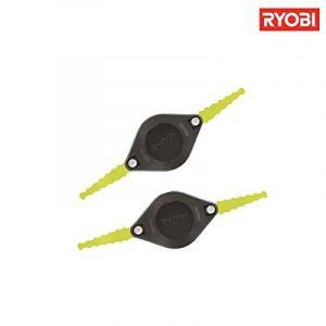 Tête de coupe avec lame en plastique Rac139, lot de 2, 5132002707 par Ryobi de la marque Ryobi image 0 produit