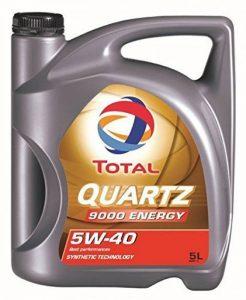 Total Quartz 9000 5W40 Huile Moteur, 5L de la marque Total image 0 produit