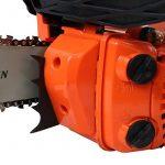 Tronçonneuse élagueuse thermique 25 cm3, 1.2 CV, guide 26 cm de la marque GT Garden image 3 produit