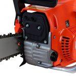 Tronçonneuse thermique 52 cm3, 3 CV, guide 45 cm, 2 chaînes de la marque GT Garden image 2 produit