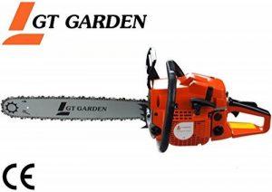 Tronçonneuse thermique 58 cm3, 3.5 CV, guide 50 cm, 2 chaînes de la marque GT Garden image 0 produit