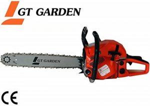 Tronçonneuse thermique 62 cm3, 3.5 CV, guide 50 cm, 2 chaînes de la marque GT Garden image 0 produit