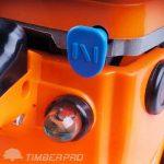 Tronçonneuse Thermique 62 cm3 guide 50 cm avec 2 chaines + housse de transport de la marque TIMBERPRO FR image 3 produit