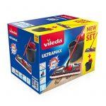 Vileda - 137431 - Ultra Max complète : Set Balai à Plat + Seau-Essoreur de la marque Vileda image 1 produit