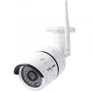 Virtoba Vikcam W3 Caméra de Surveillance Sans Fil 720P HD WiFi Caméra de Sécurité Extérieur - Étanche à Distance LED Infrarouge Alerte Détection de Mouvement Vision Nocturne pr Maison Bureau de la marque Virtoba image 0 produit