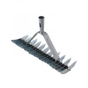 Xclou 341224 Râteau scarificateur de pelouse double denture avec 32 dents galvanisées de la marque Xclou image 0 produit